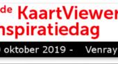 10 oktober 2019: KaartViewer Inspiratie Dag
