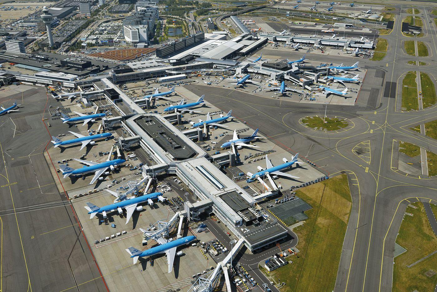 GIS en BIM ingezet voor onderhoud en beheer Schiphol Airport