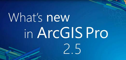 ArcGIS Pro 2.5 beschikbaar