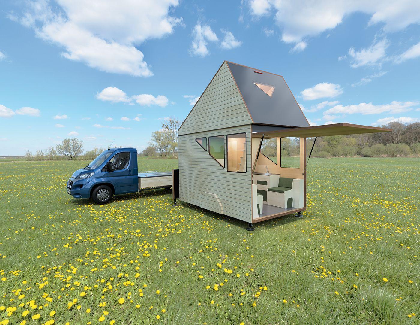 HAAKS Campers ontwerpt flexibel en duurzaam Nano House | BIGnieuws