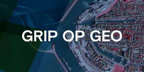 Online kennis delen tijdens Grip op Geo 2020