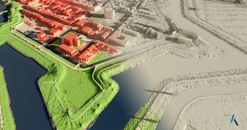3D-Basisbestand van Nederland beschikbaar