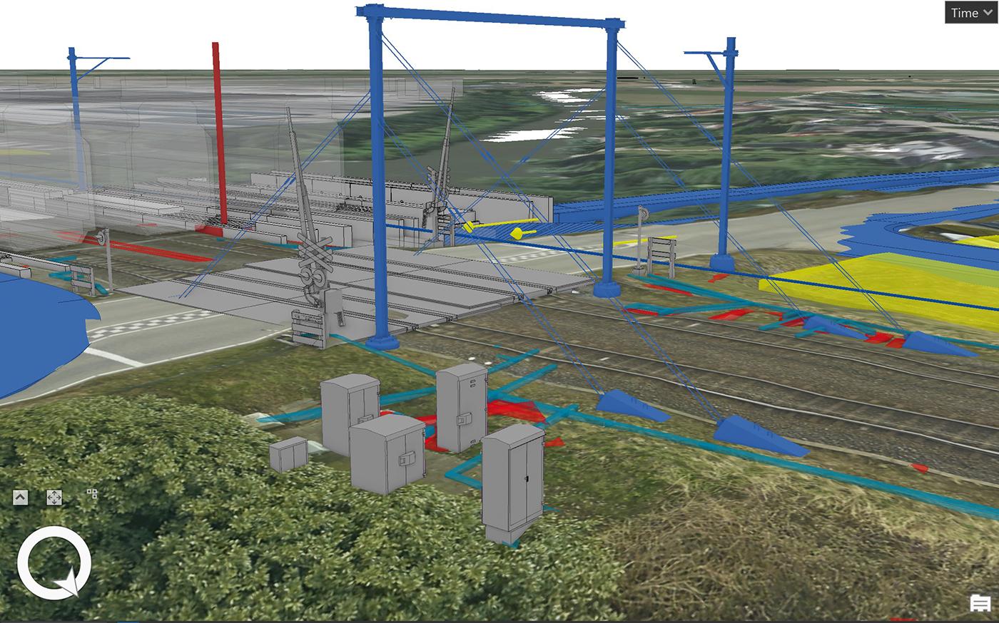 De ontwikkeling van BIM en GIS bij ingenieursbureaus
