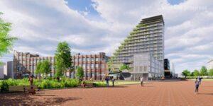SAWA, het hoogste houten gebouw van Nederland,wint Innovatie Award