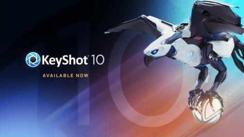 KeyShot 10 beschikbaar