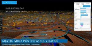 GeoSignum lanceert gratis AHN Puntenwolk Viewer