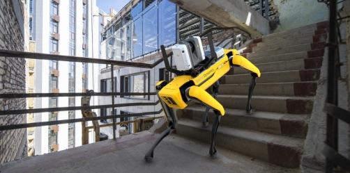 Leica Geosystems ontwikkelt 3D scanoplossing met Spot-robot