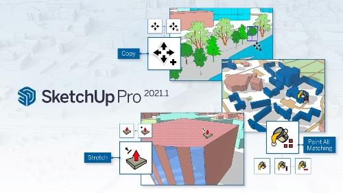 Nieuwe updates in SketchUp Pro 2021.1